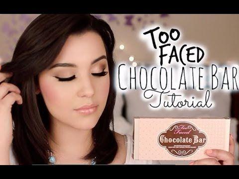 Chocolate Bar Makeup Tutorial | Makeupbyamarie (+playlist)