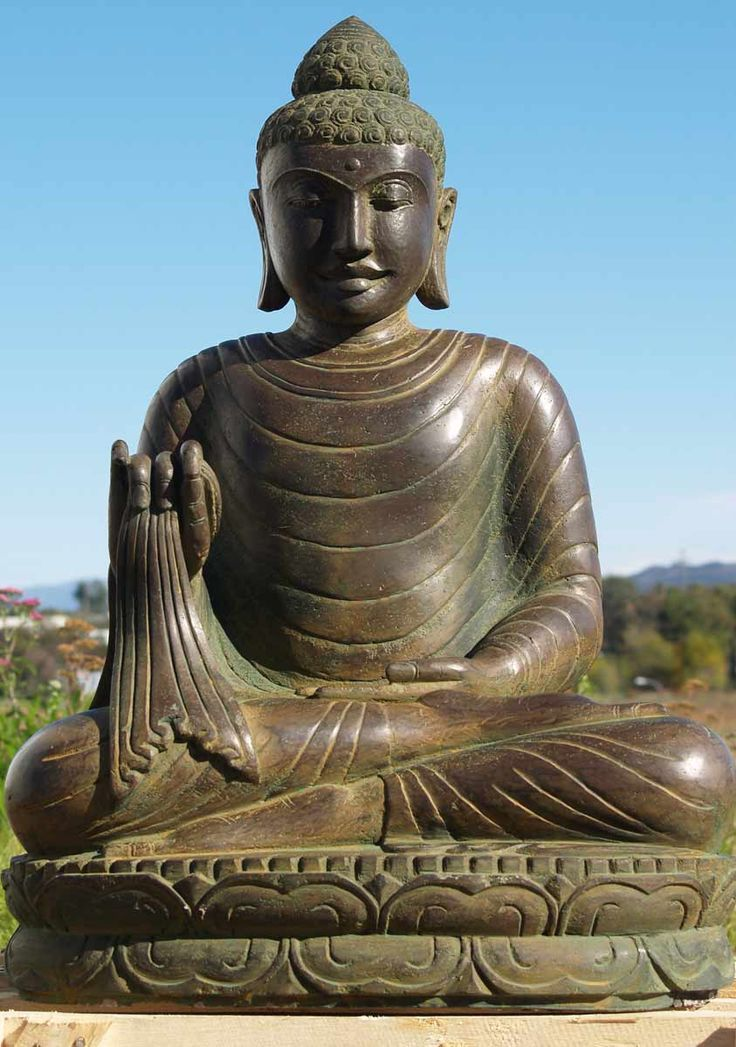 view the stone garden buddha statue 33 buddha statues. Black Bedroom Furniture Sets. Home Design Ideas