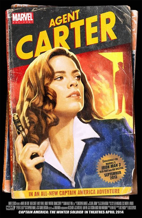 Agent Carter. Only 3 episodes in and I'M IN LOVE WITH THIS SHOW.