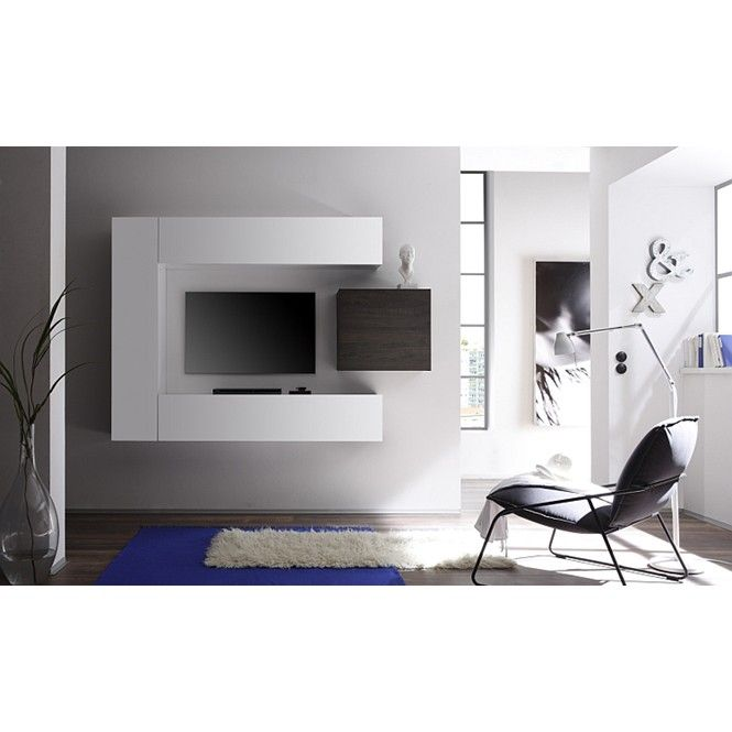 Design tv-wandmeubel Lemvig - Zwevende Tv-meubelen - Tv meubel | Zen Lifestyle