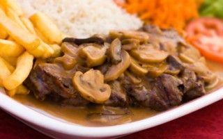 Steak de haut de surlonge et sa sauce
