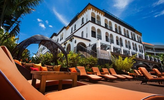 You'll think you're in a Spanish villa with a stay at The Hotel Zamora, the newest hotel to open up in St. Pete Beach, Florida, in more than 20 years. Enjoy 360-degree views of the Gulf from the rooftop and stay from just $99 a night select dates now through Oct. 1st. (From: 22 Vacations Under $100/Night)