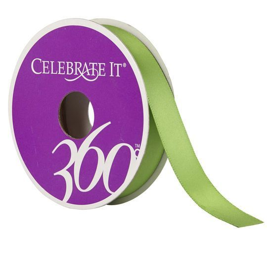 "5/8"" Satin Ribbon by Celebrate It 360°"