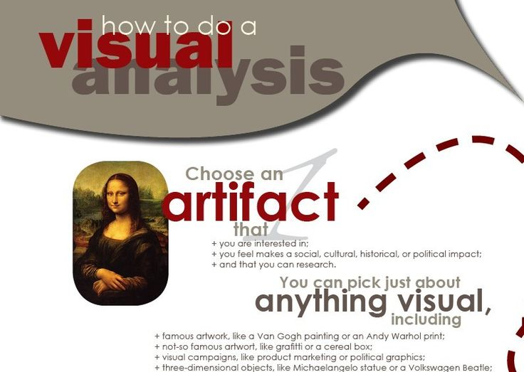 One of the best ways to improve visual literacy and visual communication skills is to analyze a visual artifact of…