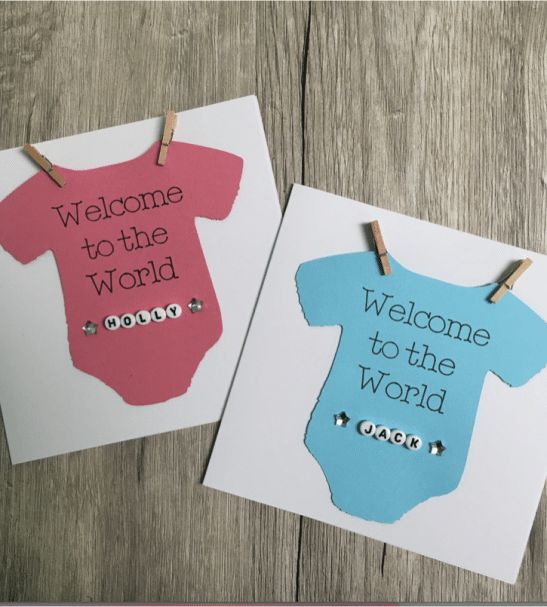 1000+ images about nuMONDAY New Baby Cards on Pinterest