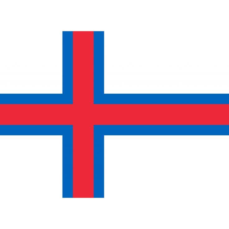 Vlag Faeröer eilanden | Faeröerse vlaggen 150x225cm