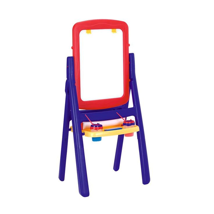 """Imaginarium 2 Sided Qwik Flip Easel - Blue/Red 