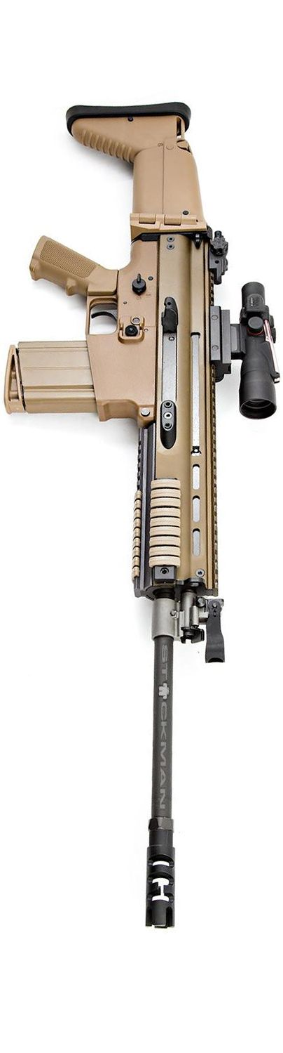 FN Herstal SCAR with a Trijicon ACOG. By Stickman.