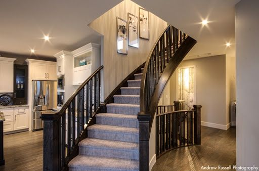 Show stopping curved staircase
