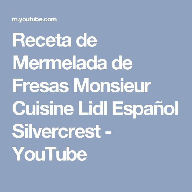 10 best Recetas de mermeladas Monsieur Cuisine images on Pinterest ...