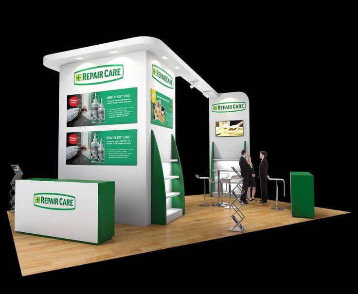 8m x 5m exhibition stand design