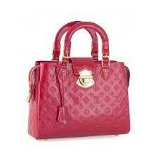 Bolsa rosa linda!