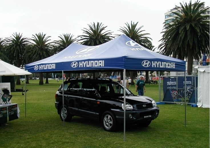 pop up marquee tent for hyundai