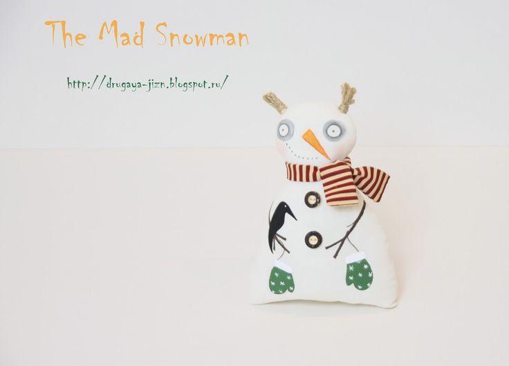 Медитация с иглой и пяльцами...: Безумный снеговик/The Mad Snowman
