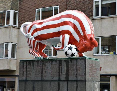 Aab vandt det danske mesterskab i fodbold. År 2008