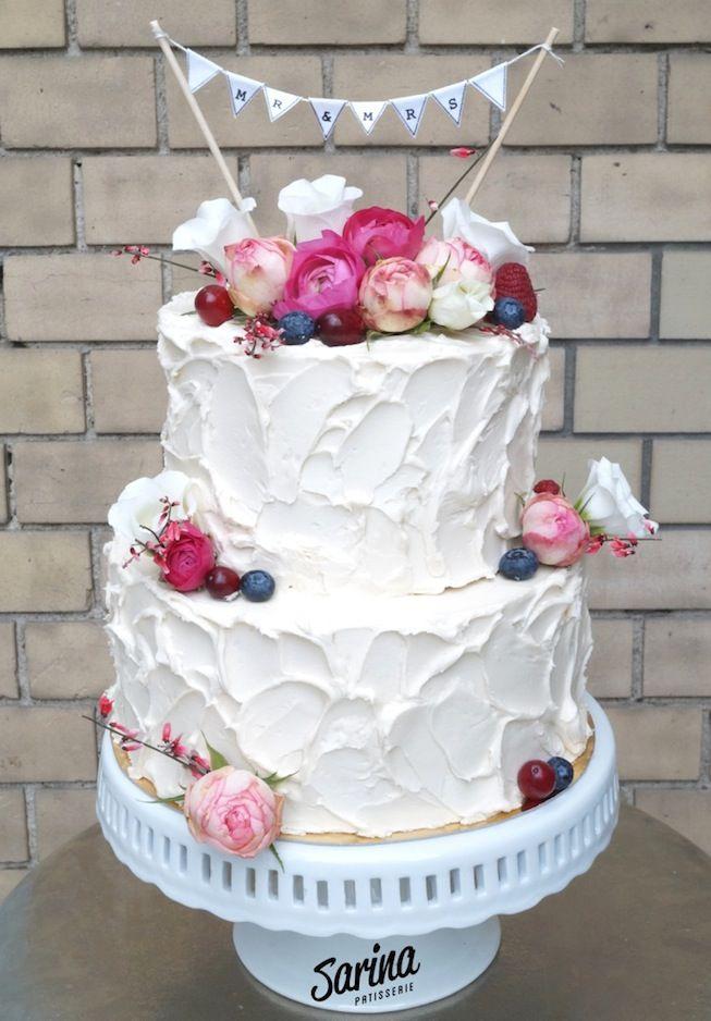 zu Hochzeitstorte Blumen auf Pinterest  Hochzeitstorte mit blumen ...
