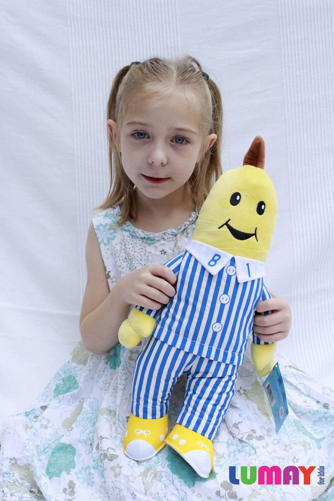 LARGE Bananas In Pyjamas B1 and B2 Soft Plush Toys 45 cm NEW