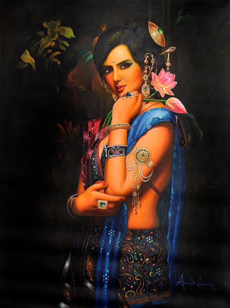 Indian Beauty in Thought