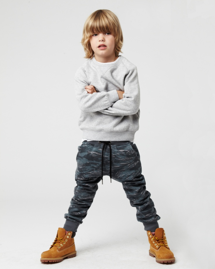 the BASIC MARLE sweat, available in ages 3 - 14. the DESERT STORM trackie, available in ages 0 - 14. www.industriekids.com.au