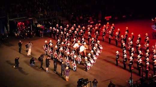 Do you know that Edinburgh Military Tattoo is performance of melody, tune and songs performed by military and also used to show the parade or ceremony of armed forces in general. The tattoo was initially a type of military music, yet the practice has developed into more intricate shows including showy behavior and musical exhibitions. http://www.edinburghtattootickets.com/edinburgh-military-tattoo-tickets.html