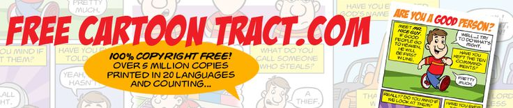 "Download The Free ""Are You A Good Person?"" Cartoon Gospel Tract"