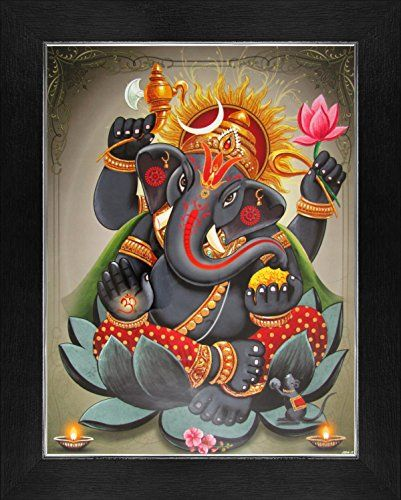 Lord Ganesha / Shree Ganesh / Shri Ganpati Poster with Fr... https://www.amazon.com/dp/B01CRC73QW/ref=cm_sw_r_pi_dp_5nVyxbYCTXQV0