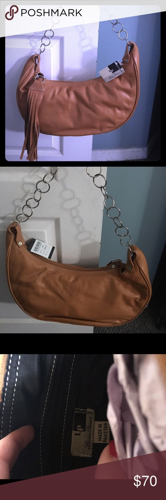 Lucien Piccard leather bag Never used!  Still has tag and bag cover came with Lucien Piccard Bags