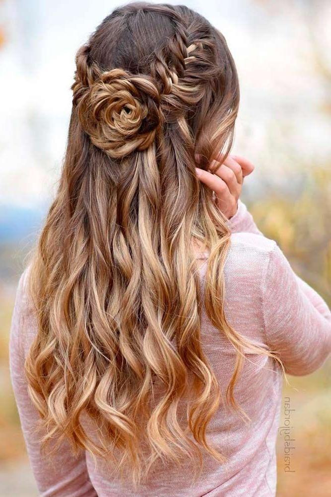 Medium length hairstyles for prom – frisuren