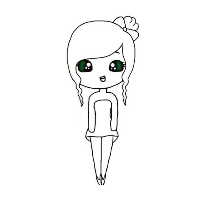 17 best images about chibi girls on pinterest chibi for Chibi template app