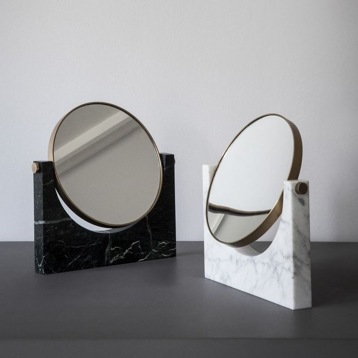 Glamorous and elegant, the Pepe Marble Mirror from Menu A/S captures the a 50's Italian style in modern day luxury.