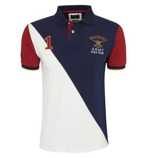 ralph lauren en solde - hackett england polo shirt Aston Martin Racing multi Polo Rouge