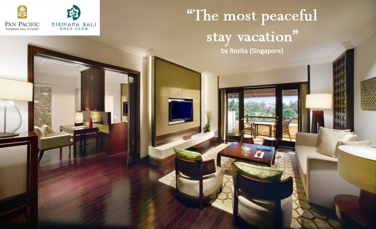Enjoy the peace and tranquility in the priceless location at Pan Pacific Nirwana Bali Resort #PanPacificBali #Bali