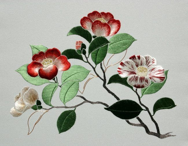 13 best peinture l 39 aiguille images on pinterest for Mimi lee chinese