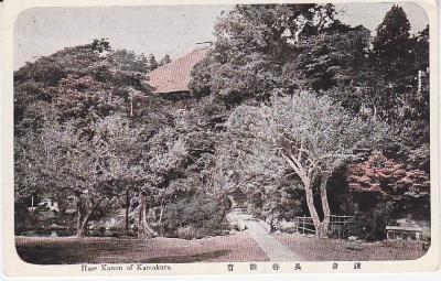 Japanese Publisher Postcard - Hase Kanon of Kamakura
