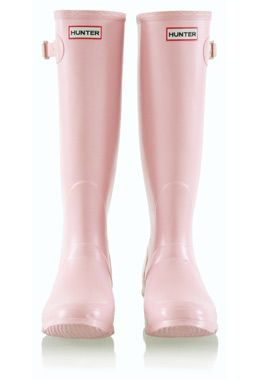 Pearly pink Hunters. So much cute thanthe hot pink