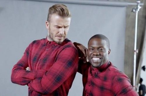 Looking for a similar red plaid shirt as the one David Beckham is wearing