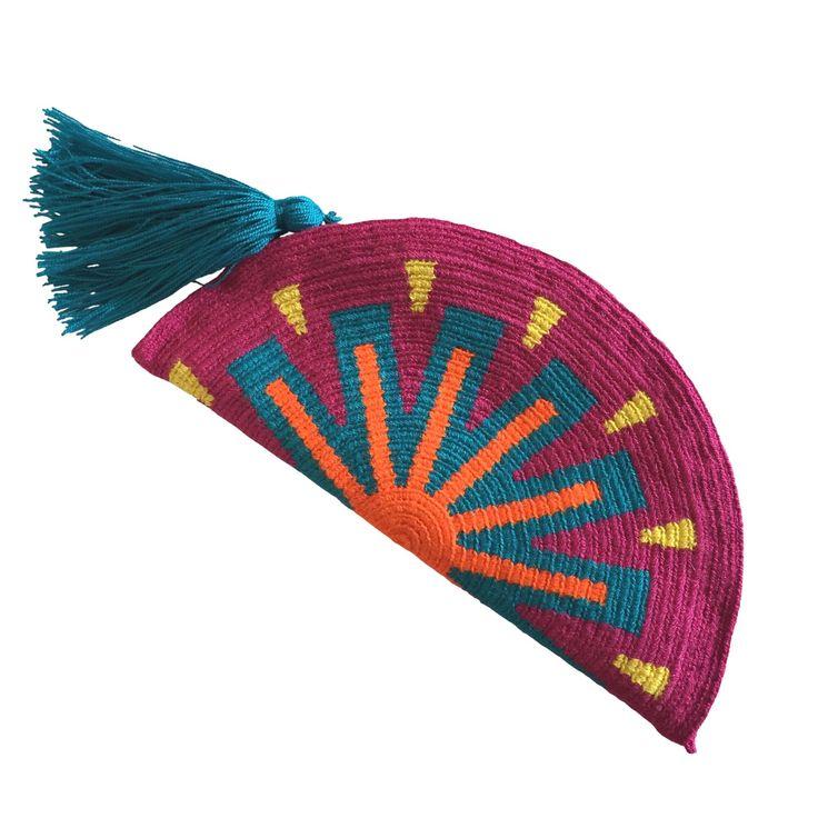 $40.00 Wayuu Clutch. Handmade and Fair Trade Wayuu Clutches – LOMBIA & CO. | www.LombiaAndCo.com