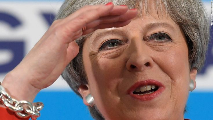 cool Analysis: Theresa May's UK election slogan backfires