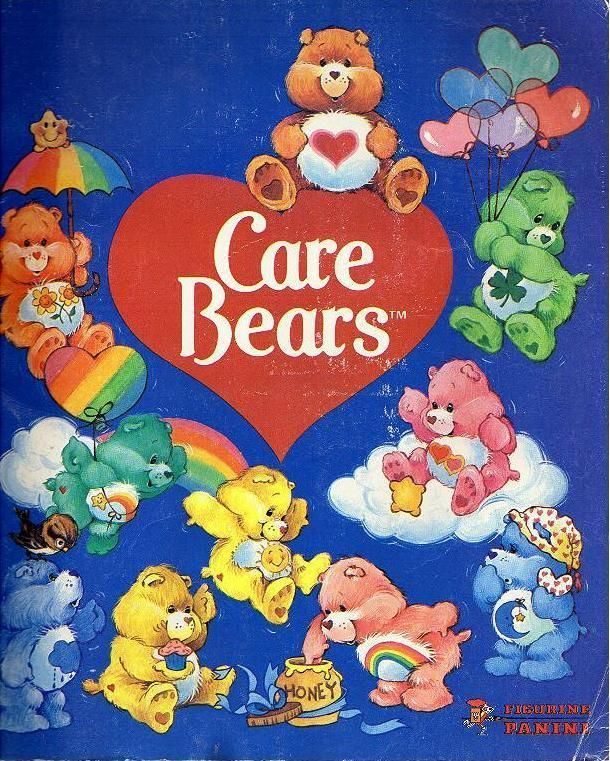 Care Bears!! Gawd we had so much cooler cartoons than kids now: sponge bob, dora, handy manny, all CRAP! Care Bear stare, you know you wanna.