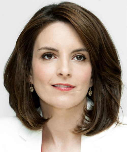 Tina Fey Hairstyles | Celebrity Hairstyles by TheHairStyler.com