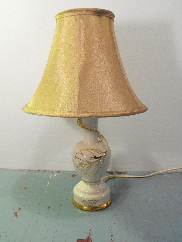 1950's bedside lamp.