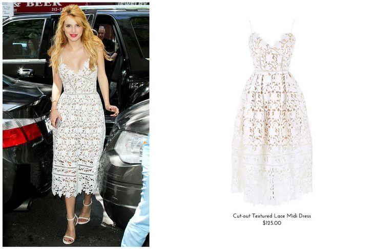 Long white lace dress australia