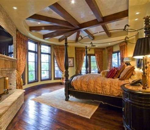 Master bedroom old world mediterranean italian spanish tuscan homes design decor What is master bedroom in spanish