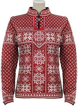 Norwegian sweater, I have one very similar, definitely keeps me warm!