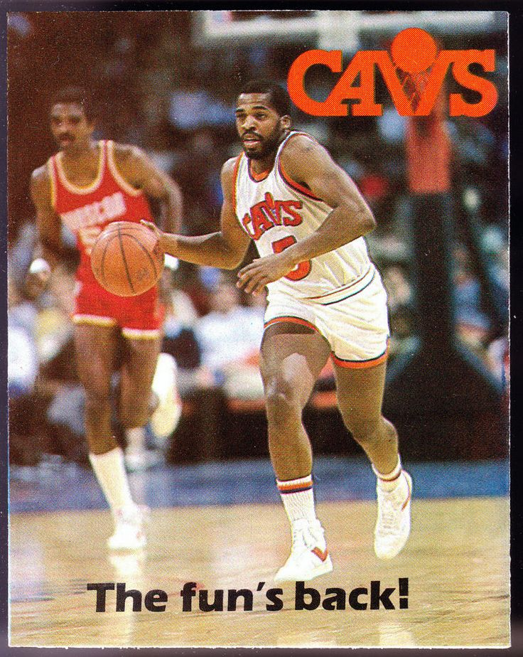 1985-86 CLEVELAND CAVALIERS TICKETRON BASKETBALL POCKET SCHEDULE FREE SHIP #SCHEDULE