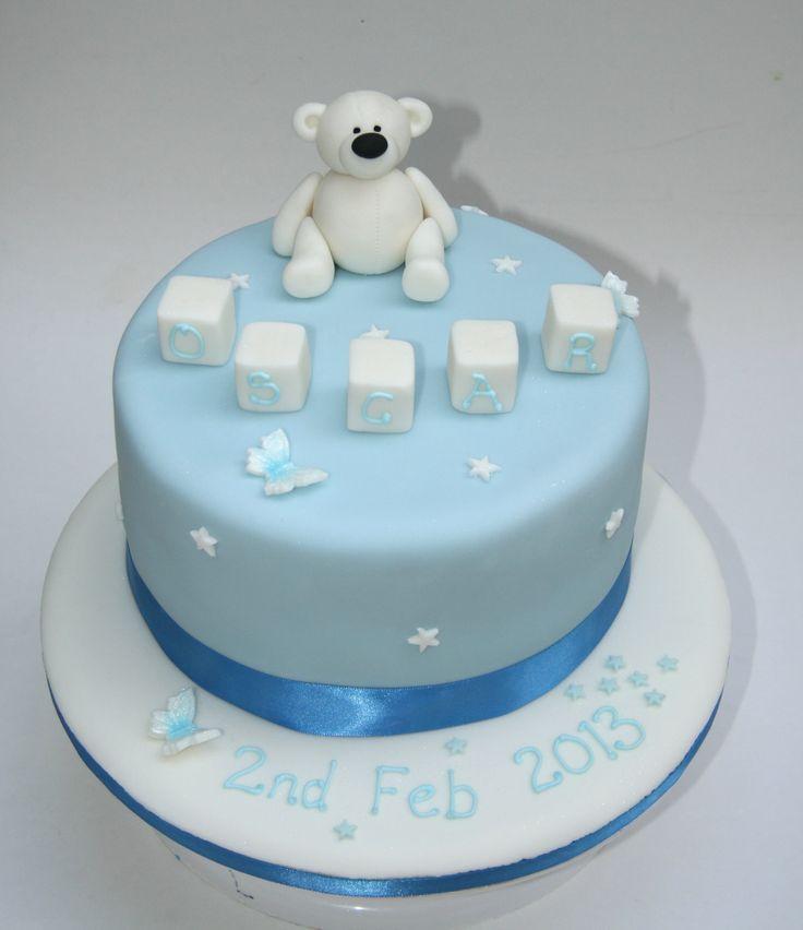 Bespoke designer christening and baptism cakes in