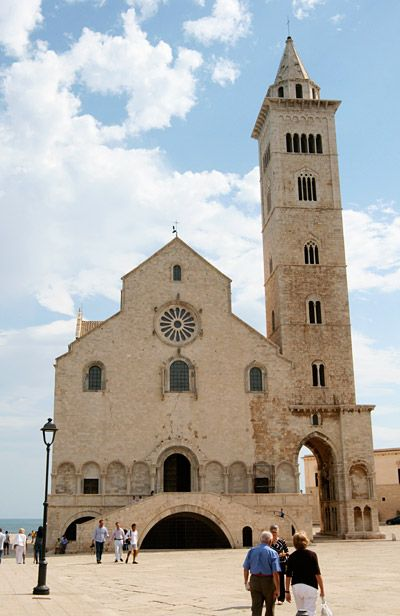 The Duomo in Trani, province of Barletta Andria Trani, Puglia region Italy