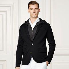 Wool-Blend Hooded Blazer - Purple Label Lightweight & Quilted  - RalphLauren.com