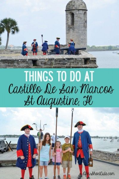 Traveling? Check out things to do at Castillo De San Marcos in St Augustine, FL.