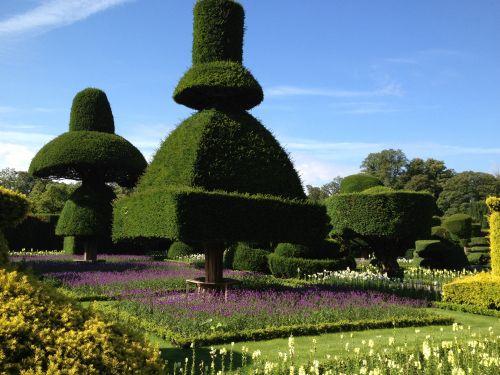 topiary garden levens hall garden kendal cumbria england - Garden Design Kendal